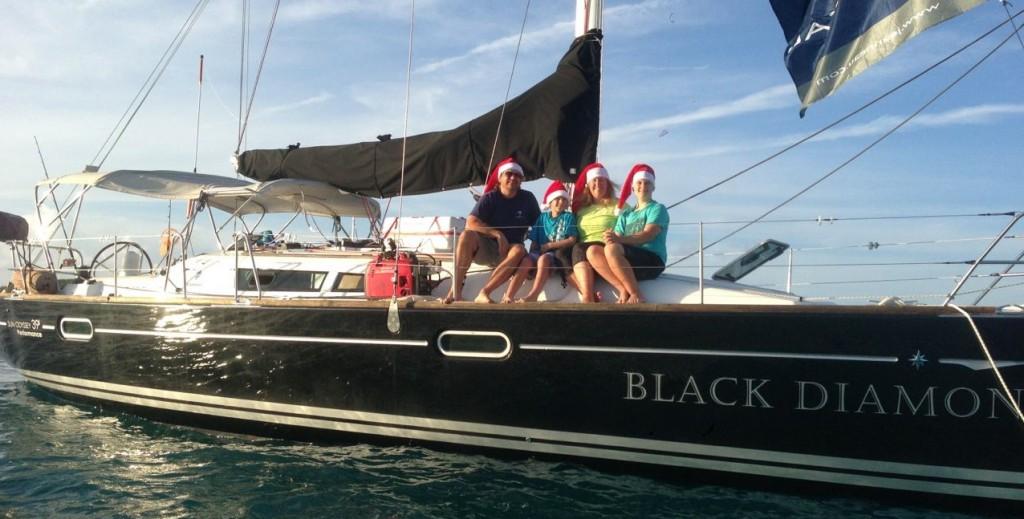Black Diamond Sailboat