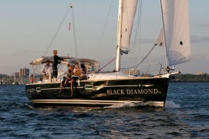 Sailing a Jeanneau in Lightwind