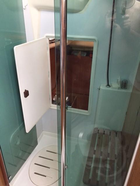 Storage Room access through Shower.