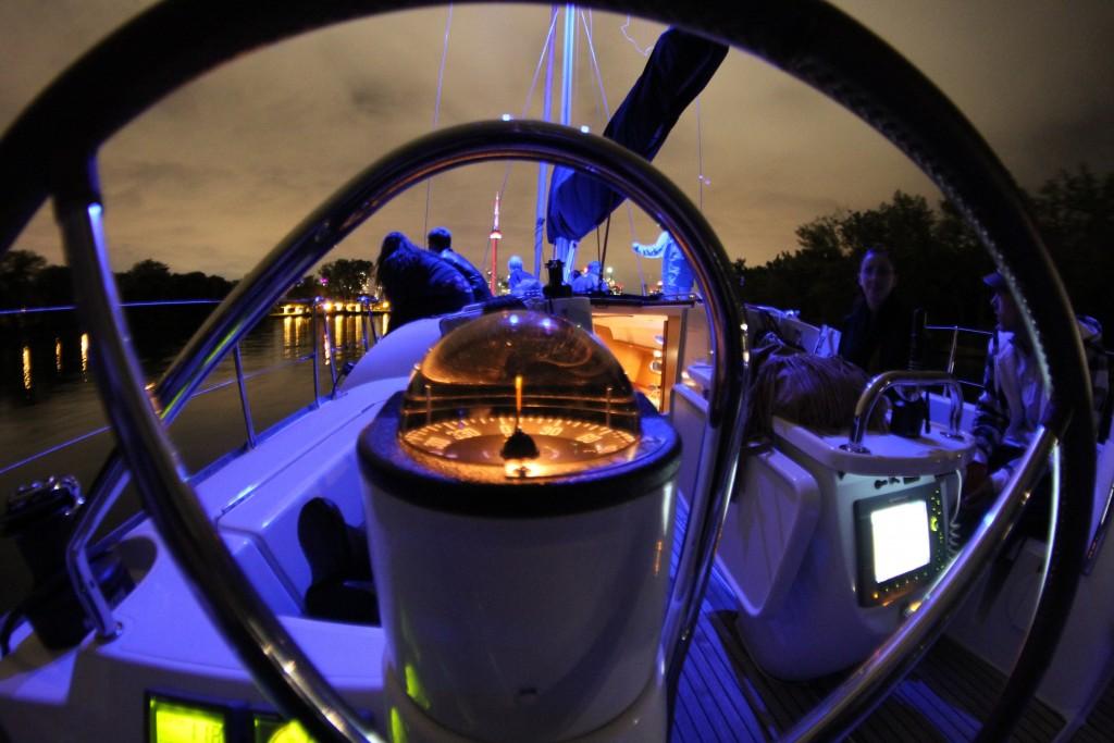 Evening Cockpit