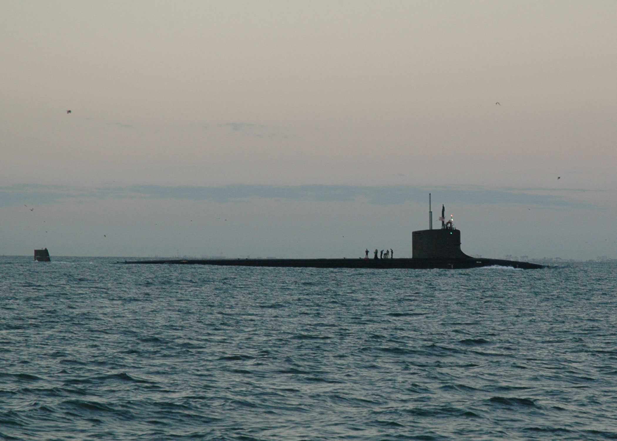 US Navy Submarine we saw this morning coming in to Cape Canaveral.