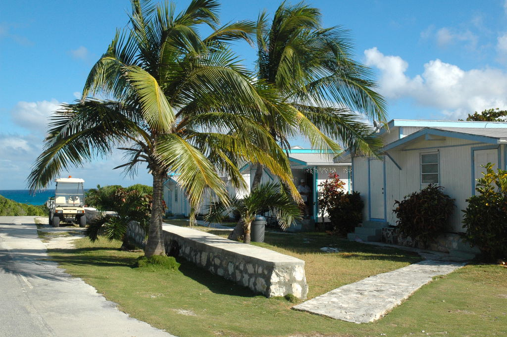 Local homes on the island.