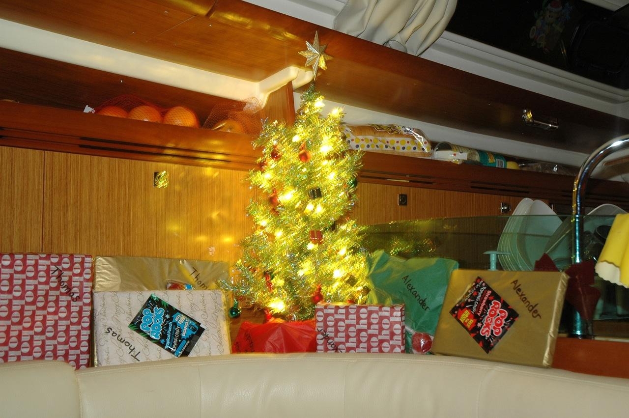 We had Christmas in the Bahamas!