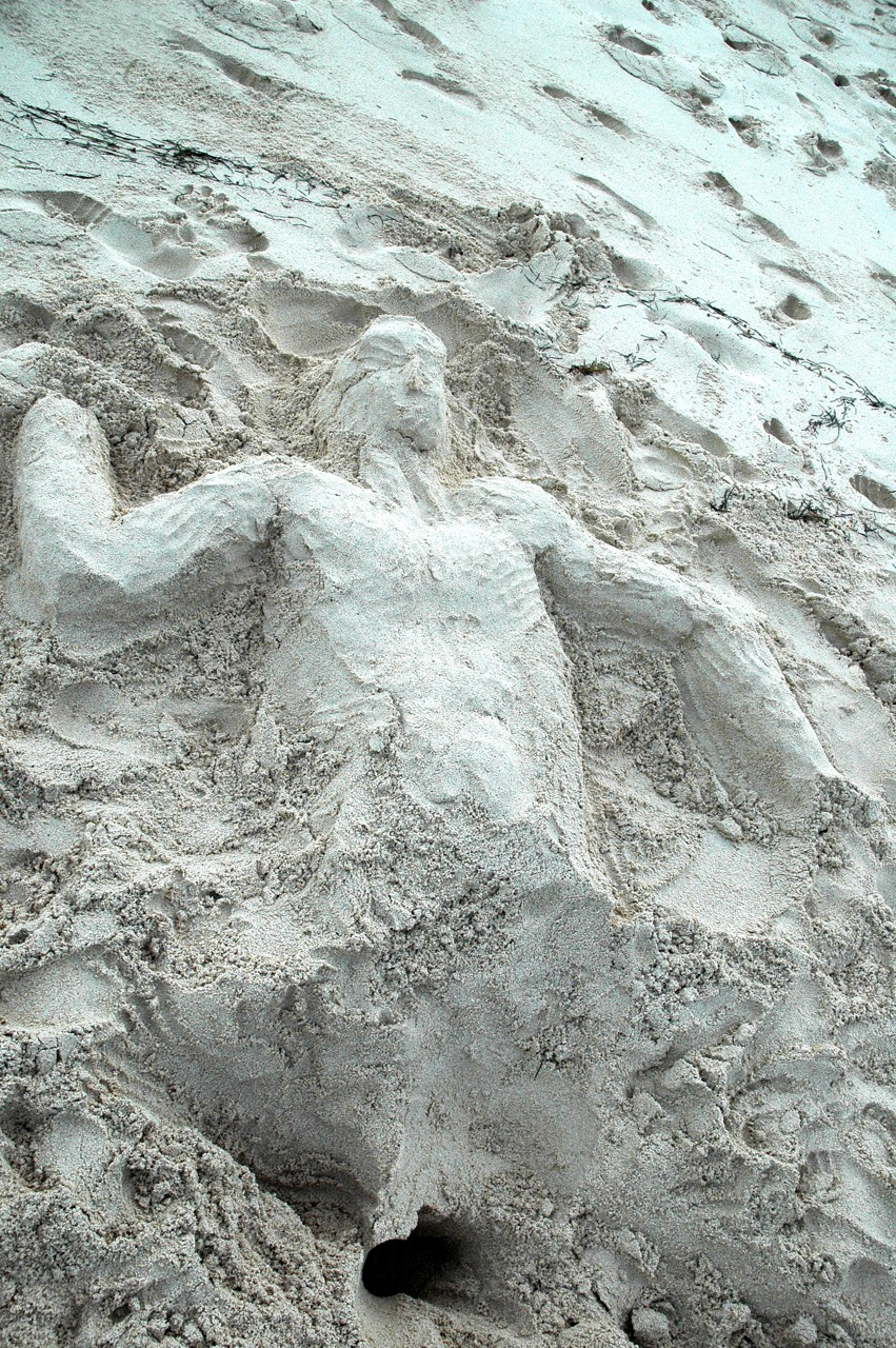 Our friend Sorin, made us a cool Sand Man!