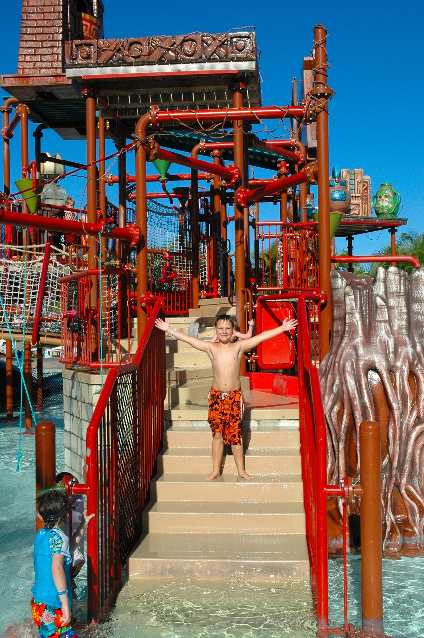 Me in the water park.