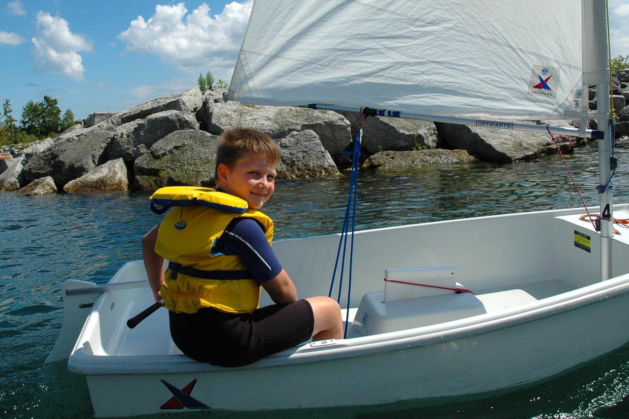 A wonderful Summer in Sailing camp.