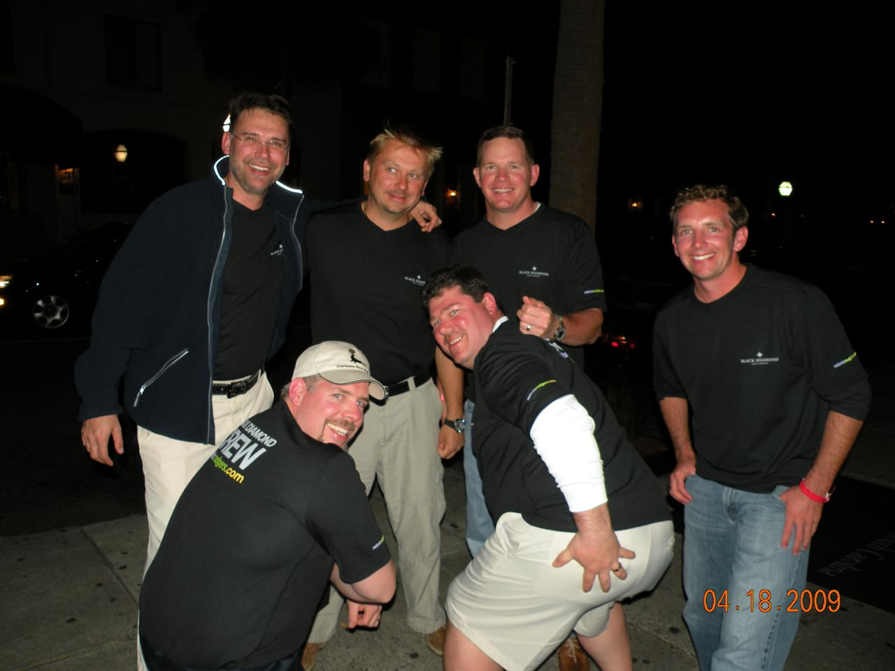 Ivan, Ed, Dubie, Derek, Craig and Chris. - (c) Copyright 2009