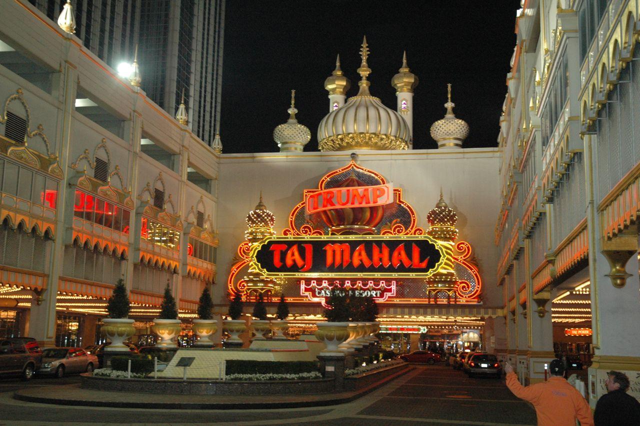 Taj Mahal Hotel & Casino.