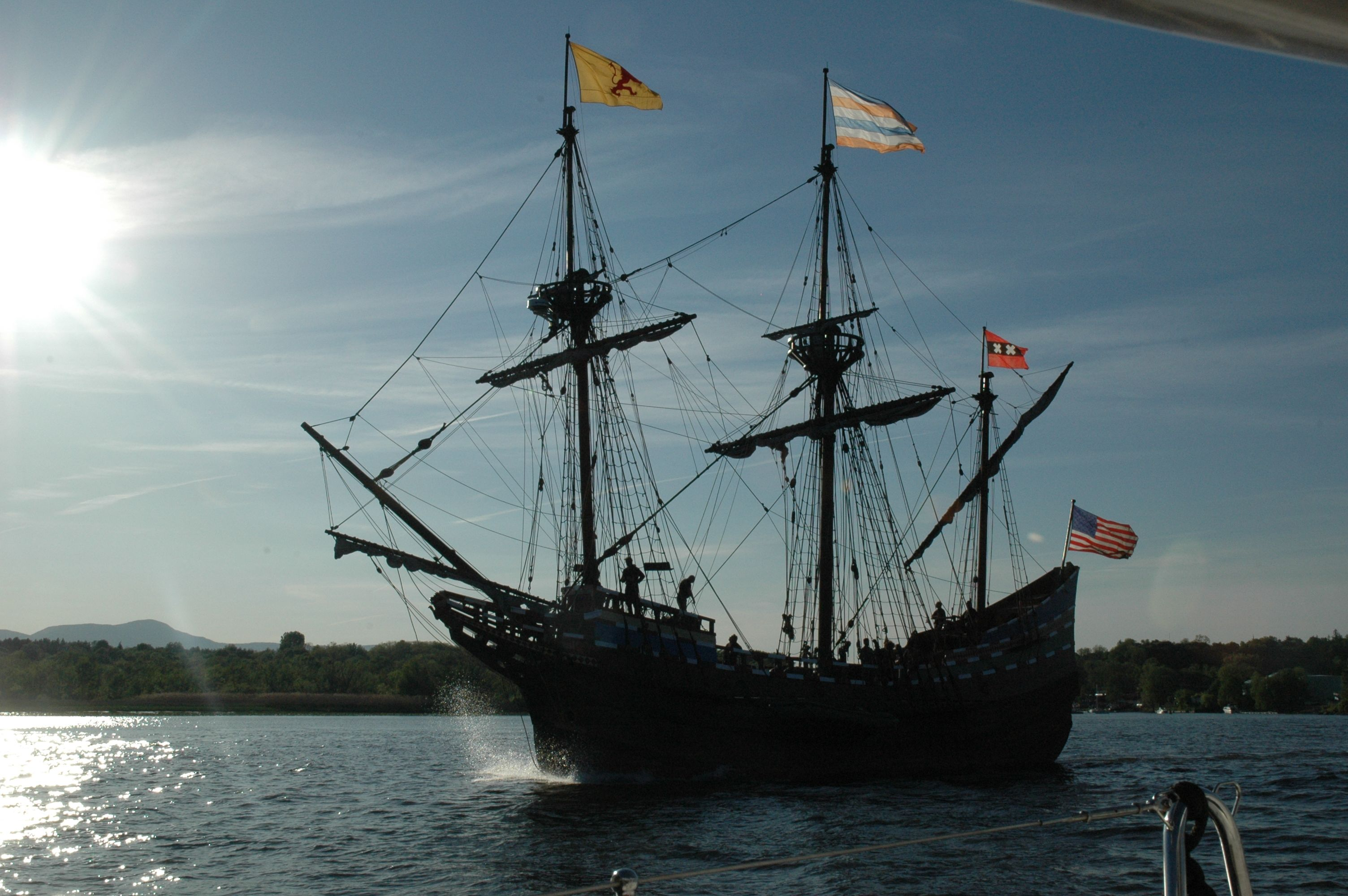 Vintage Replica to commemorate the 400th anniversary of the Hudson River in 2009.