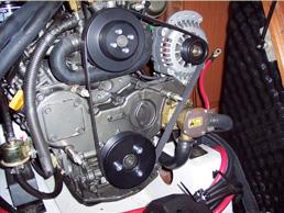Alternator-Engine