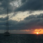Exuma Sun Set
