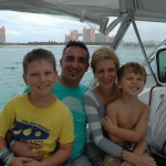 With Friends in Nassau Harbour