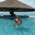 Chubb Cay Swim up Bar.