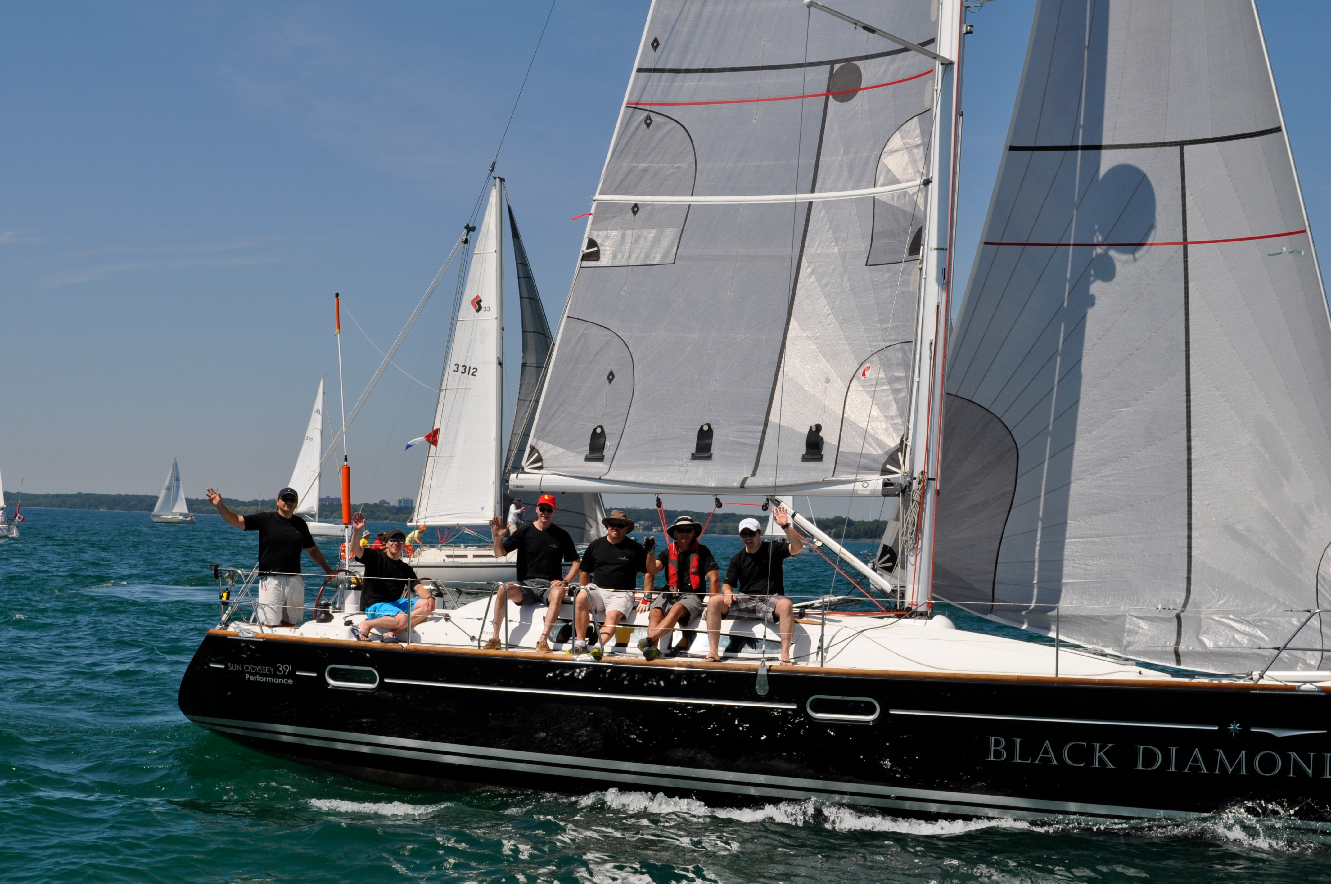 2013 Lake Ontario 300 Yacht Race (LO300)