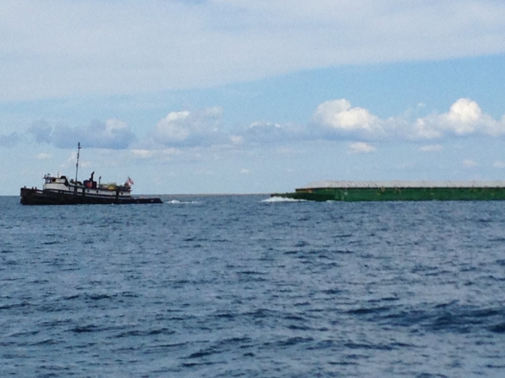 US Barge in CND Waters, let the war of 1812 begin!