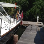 Our floating dock for 2 months