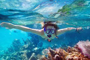 woman-on-reef