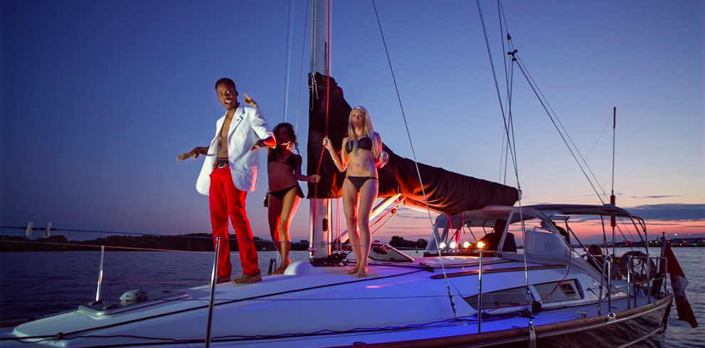Music Video Filmed Aboard Black Diamond – Party Party X2 Bonjour Hola!