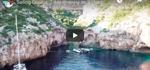 7 day Croatian Sailing Charter Itinerary