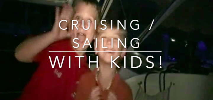 Sailing with kids, crossing the gulf stream to Bahamas
